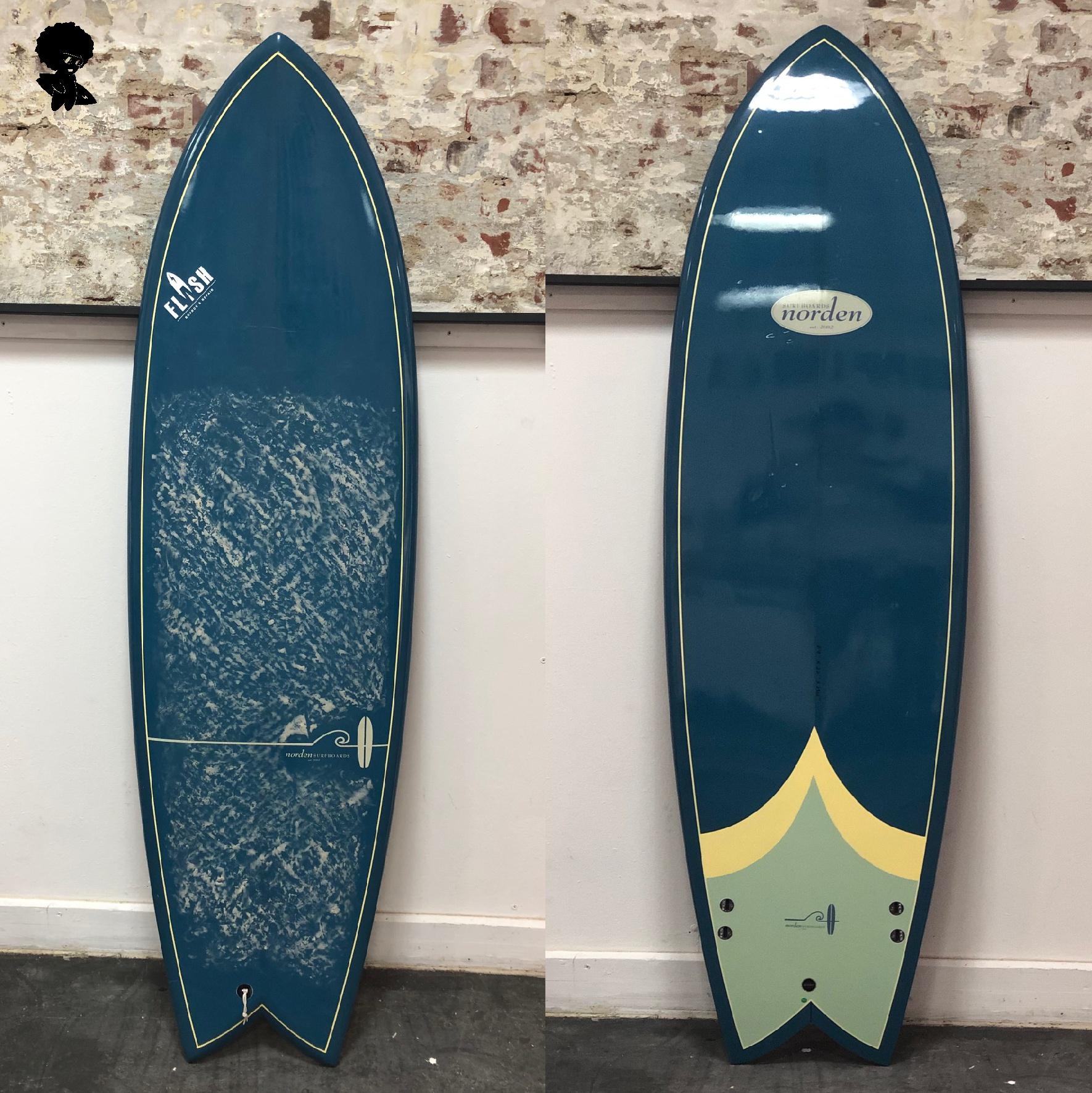 Norden Surfboards Retro Fish
